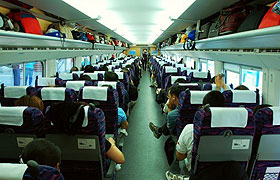 second class seat china